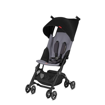 Gb by Cybex Buggy Pockit + Silver Fox Grey - mid grey 2018 - large image