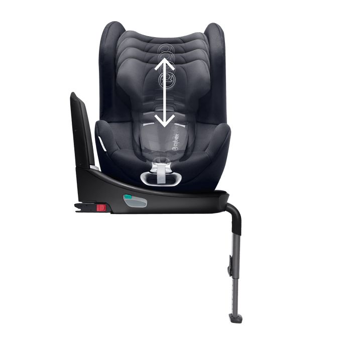 cybex platinum car seat sirona plus 2018 midnight blue navy blue buy at kidsroom car seats. Black Bedroom Furniture Sets. Home Design Ideas