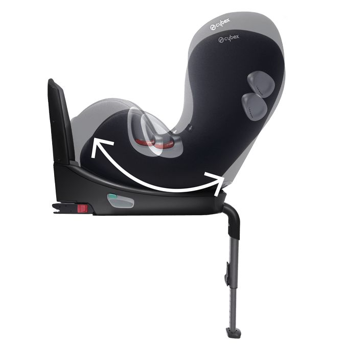 cybex platinum car seat sirona plus 2018 stardust black black buy at kidsroom car seats. Black Bedroom Furniture Sets. Home Design Ideas