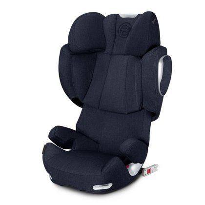 Cybex Platinum car seat Solution Q3-fix Plus Midnight Blue - navy blue 2018 - large image
