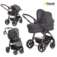Hauck SOUL PLUS TRIO SET -  * When combined with the CARRYCOT you can use the Hauck Soul Plus right from birth and provide your little one a cosy and safe place to snuggle up. The carrycot can be attached easily to the chassis via the Easy-Fix system.