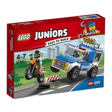 LEGO Juniors Police on manhunt - * This set by LEGO Juniors will fascinate little boys.