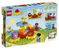 LEGO Duplo My first carousel - * LEGO Duplo My first carousel can be used at the age of 18 months and interferes the principle or cause and effect in a playful way.