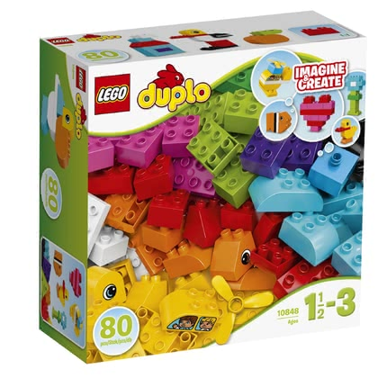 LEGO Duplo My First Bricks - * The My first bricks by LEGO Duplo contain a great variety of colourful bricks and will inspire your child's fantasy.