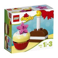 LEGO Duplo My first birthday cake - * Build different variations of cake with the My first birthday cake by LEGO Duplo.