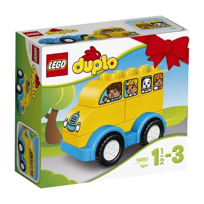 LEGO Duplo My first bus - * The LEGO Duplo My first bus promises endless driving fun and supports first skills in constructing.
