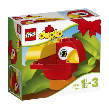 LEGO Duplo My First Bird - * Build different colourful birds with this LEGO Duplo set my first parrot.