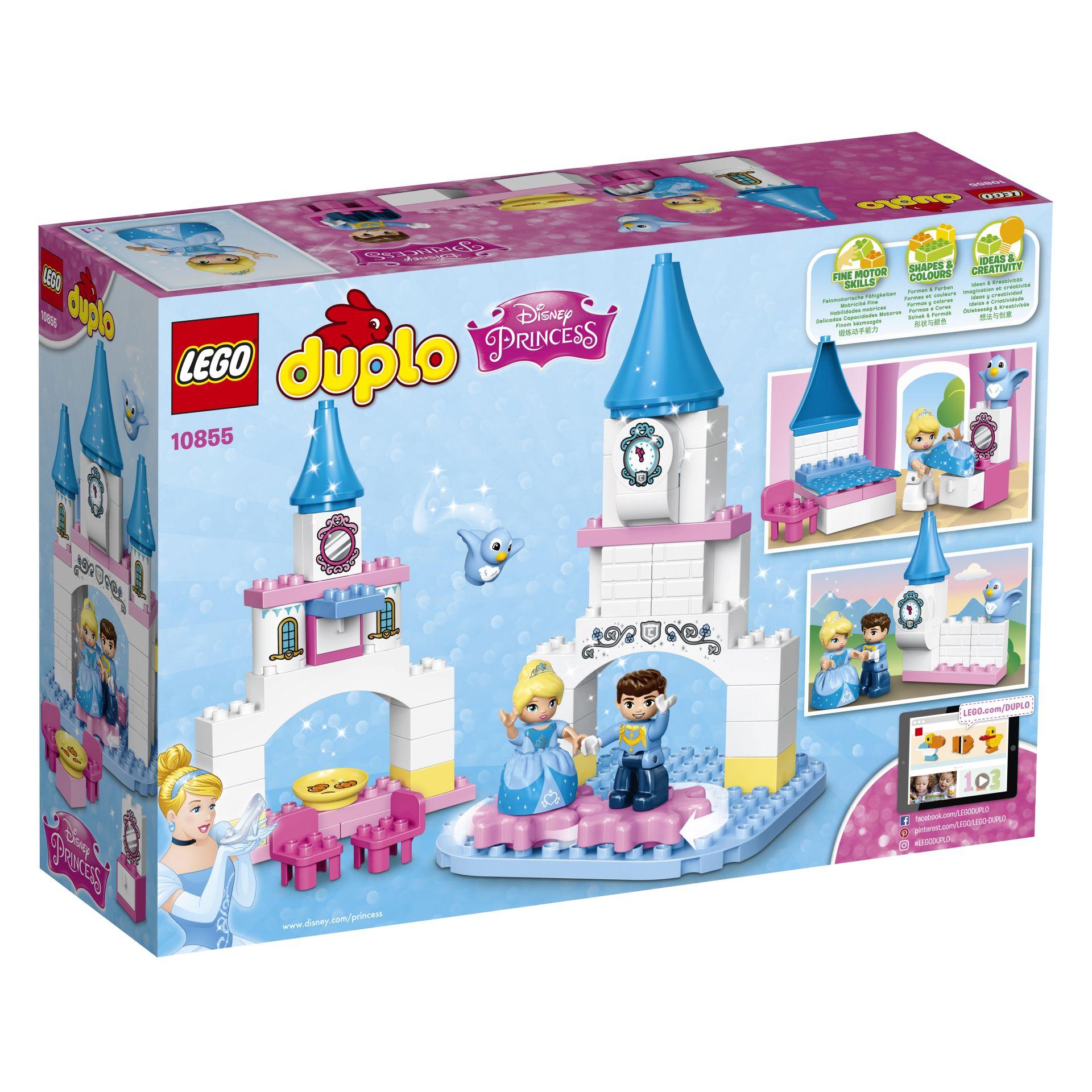 lego duplo disney princess cinderella's fairy-tale castle 2017