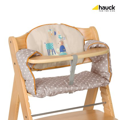 Hauck High Chair Seat Pad Comfort Animals 2018 - large image