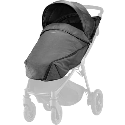Britax B-Agile and B-MOTION Canopy Pack incl. Windscreen Denim-Collection - * This canopy pack will make your sport stroller complete.