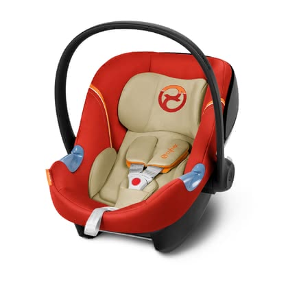 Cybex infant carrier Aton M Autumn Gold - burnt red 2017 - large image