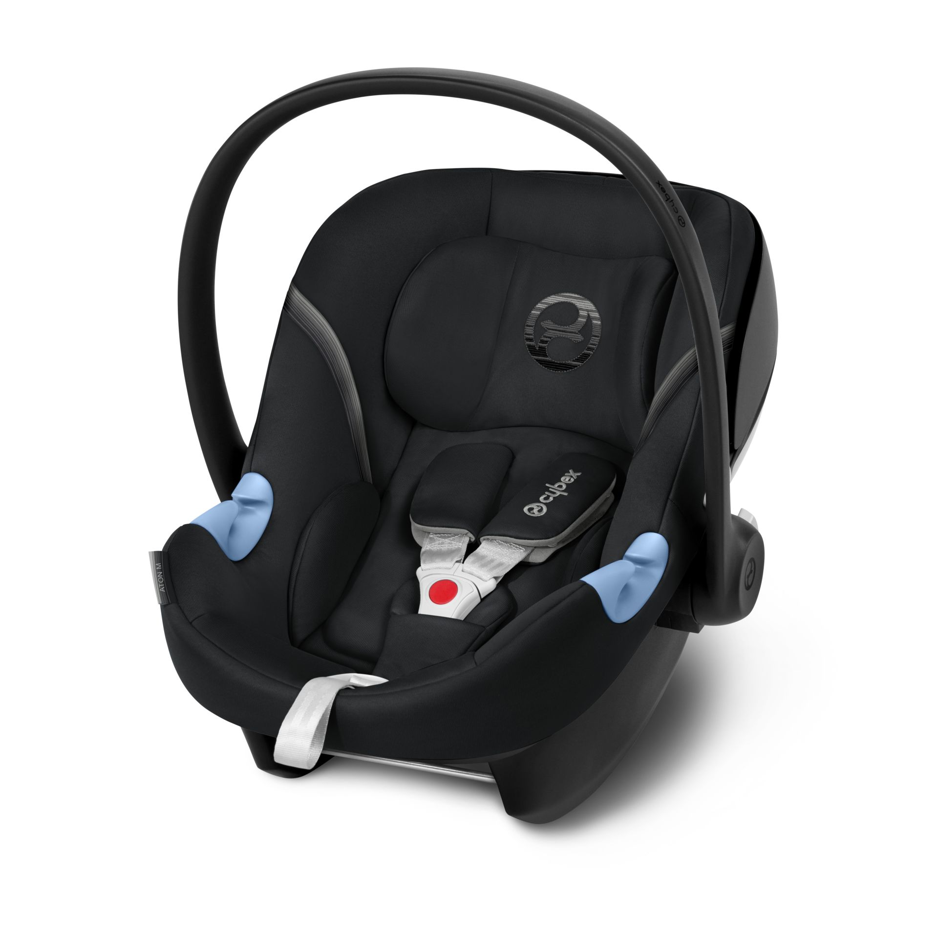 cybex infant car seat aton m 2018 lavastone black black. Black Bedroom Furniture Sets. Home Design Ideas