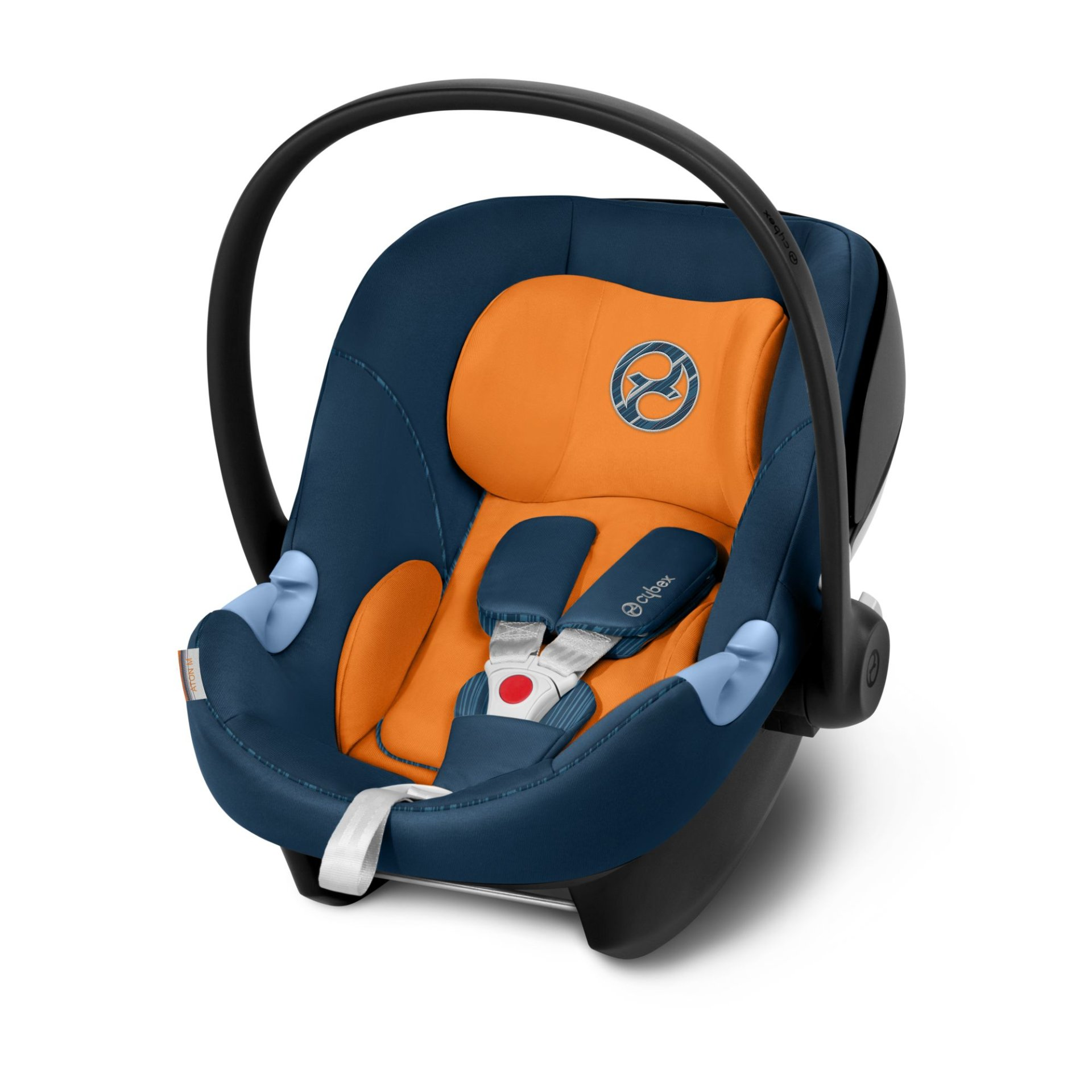 cybex infant car seat aton m 2019 tropical blue navy. Black Bedroom Furniture Sets. Home Design Ideas