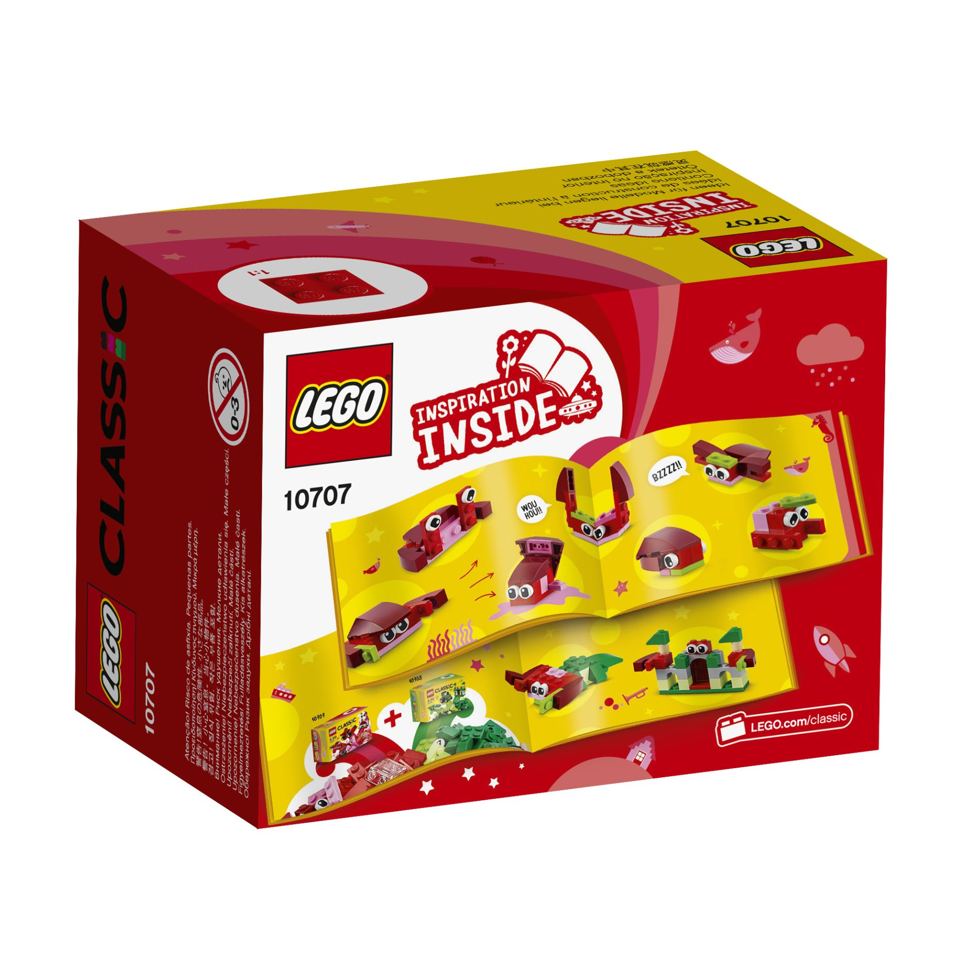 LEGO Classic creative box red 2017 Buy at kidsroom Toys