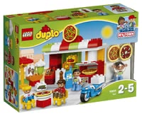 LEGO Duplo Pizzeria - * Your little chef can run his own restaurant with this set by LEGO Duplo.