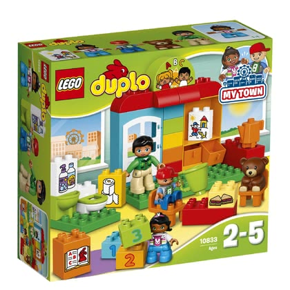 LEGO Duplo Preschool - * This preschool is ideal to prepare for a day at school and to reenact everything that happened that day.