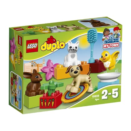 LEGO Duplo Family Pets - * Your little one will learn how to care for pet in a playful way with this pet.