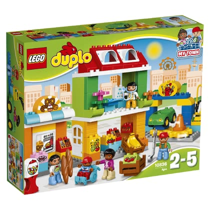 LEGO Duplo Town Square - * Reenact real life with this set.