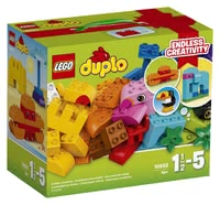 LEGO Duplo Creative Builder Box - * Your little one will be able to create a lot of exotic animals with this set.