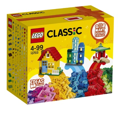 LEGO Classic creative construction set buliding - * The LEGO Classic creative construction set offers three level of difficulties for your little architect.