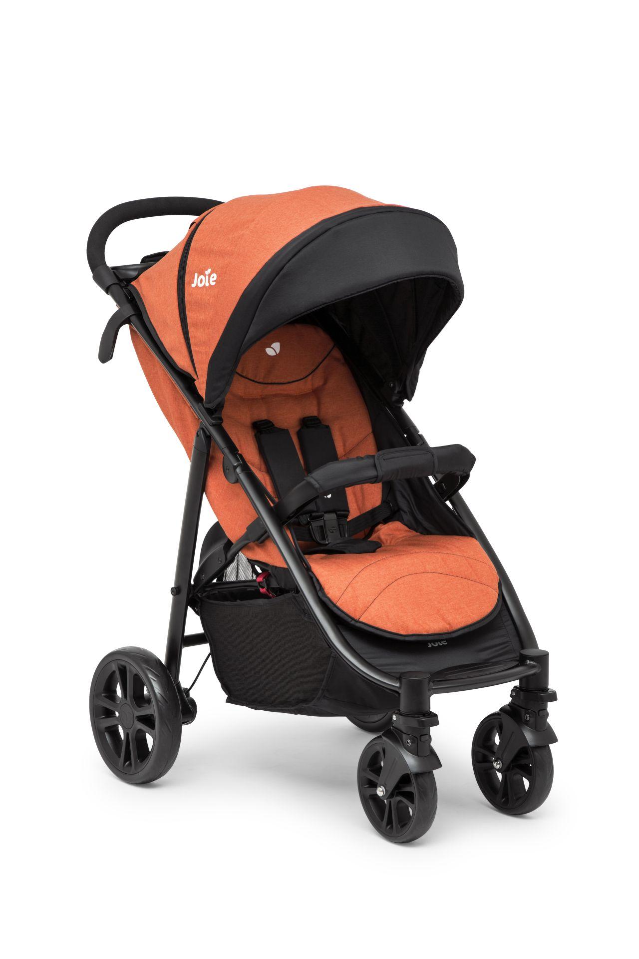 Joie Buggy Litetrax™ 4 2017 Rust - Buy at kidsroom | Strollers