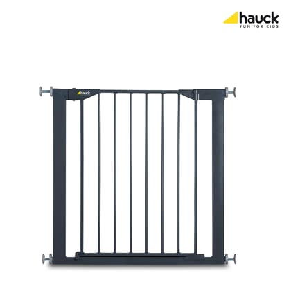 Hauck Baby Gate Stop'n Safe -  * The Hauck Baby Gate Stop'n Safe is equipped with a two-stage colour indicator that guarantees easy and safe use. If the indicator is red the gate is open, if it is grey the gate is closed.
