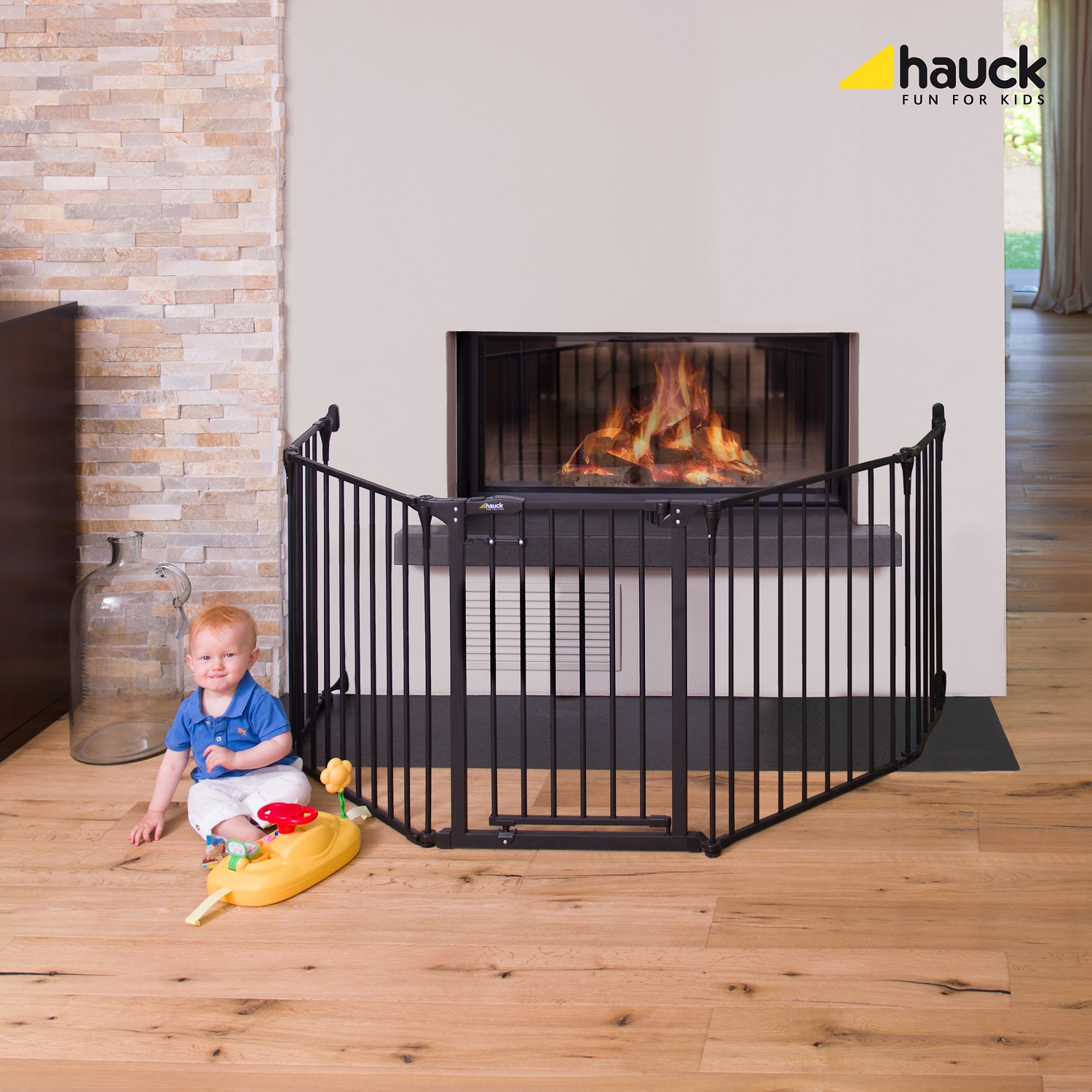Distance From Fireplace To Rug: Hauck Fire Guard XL - Buy At Kidsroom