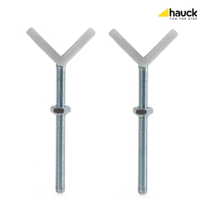 Hauck Y-Spindle for Baby Gate -  * With the Hauck Y-Spindles you can safely attach the Baby Gates Open'n Stop, Close'n Stop and the Wood Lock Safety Gate to banisters with round and oval columns that have a diameter of up to 10 cm.