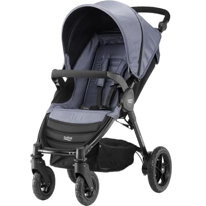 Britax B-Motion 4 Denim-Collection - * The Britax B-Motion 4 is a flexible buggy – for a relaxed stroll in town or in the countryside. Available now in the chic Denim – collection.