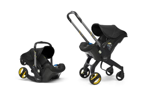 Doona+ Mobile Infant Car Seat - * Doona+ mobile infant carrier – Doona is the first car seat worldwide, which can be transformed into a stroller with just the push of a button.