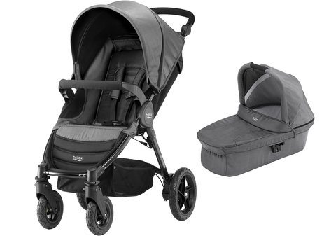Britax B-Motion 4 incl. hard carrycot denim collection - * a useful set in a denim look. The Britax B-Motion 4 incl. Hard Carrycot will make dreams come true.