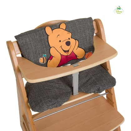 Disney High Chair Seat Pad Deluxe Winnie the Pooh -  * The ultra-comfy High Chair Seat Pad Deluxe features Disney's Winnie the Pooh. Used either as a comfy padding or seat insert this seat pad is suitable for the Hauck Wooden High Chair Alpha + or similar high chair types.