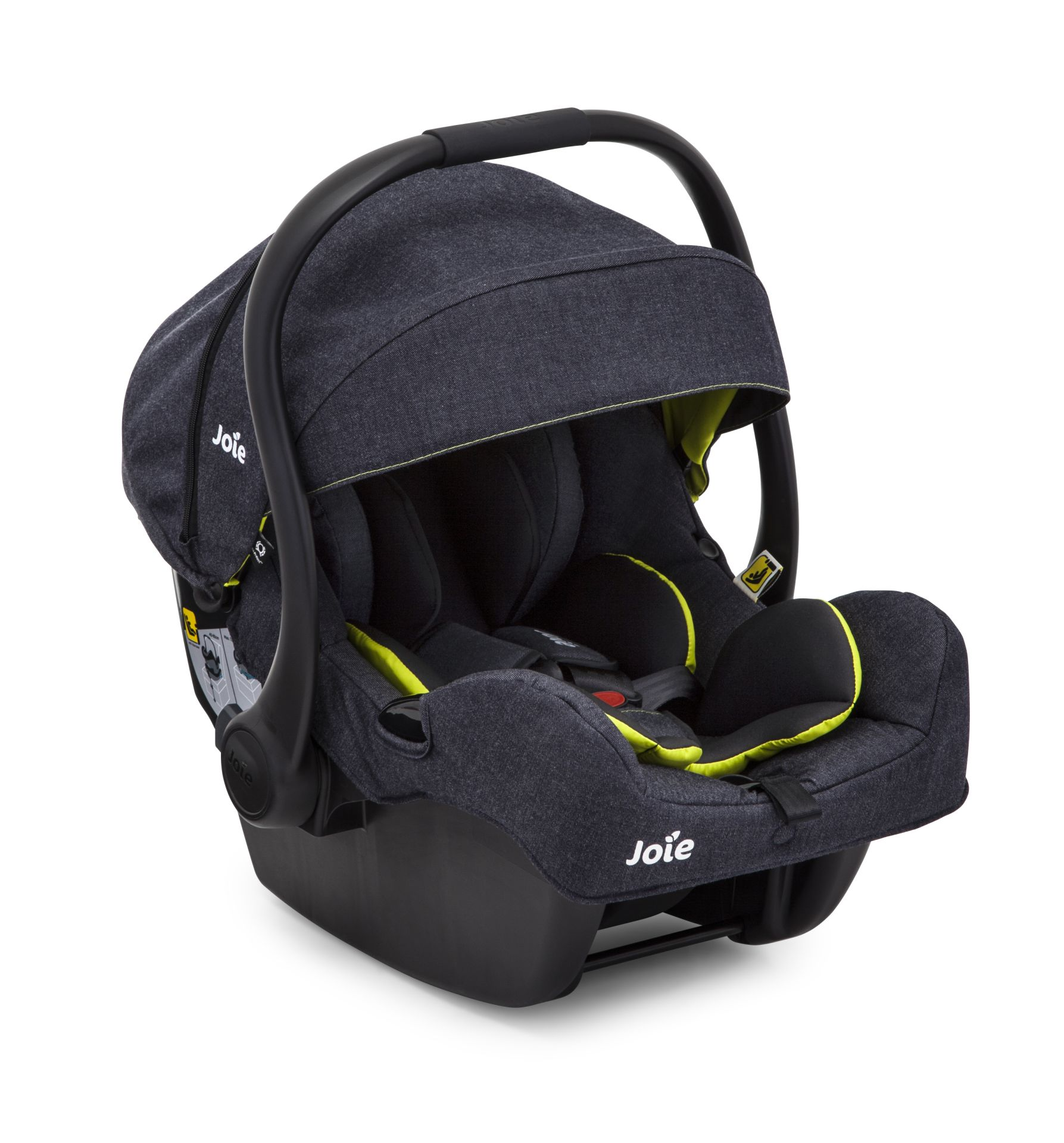 joie infant car seat i gemm 2017 denim zest buy at kidsroom car seats. Black Bedroom Furniture Sets. Home Design Ideas