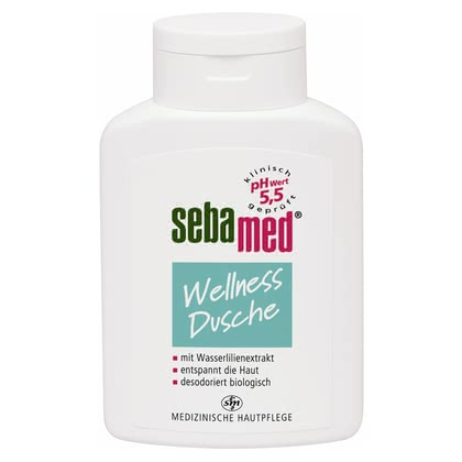 "Sebamed ""Wellness Shower"" Shower Gel - * The Sebamed Wellness shower gel will clean an especially sensitive skin and provides a lithesome skin sensation."