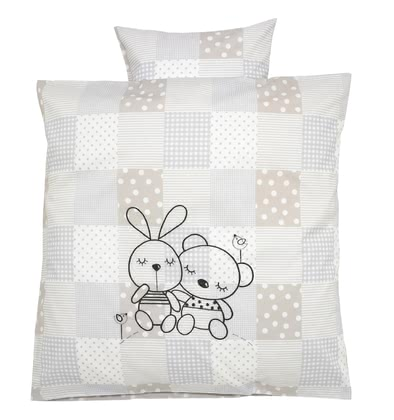 Alvi® bed linen - Rabbit -  * Sleeping in this beautiful bedding by Alvi will make your child happy and pleased.