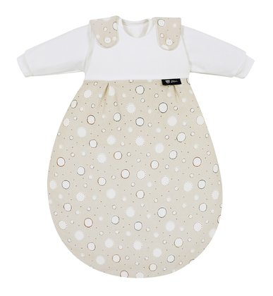 "Alvi® ""Baby-Mäxchen"" – the Original – Dots, beige -  * For decades the Alvi® ""Baby-Mäxchen"" has been the top tried and tested sleeping system providing safe and secure sleep for your baby."