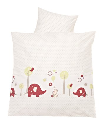 "Alvi® Bedding – ""Animal Park"" -  * Sleeping in this beautiful bedding by Alvi will make your child happy and pleased."