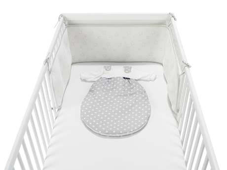 Alvi Cot Bumper Air with Star Print -  * The Alvi Cot Bumper Air with Star Print lets your little one sleep most comfortably in his or her cot.