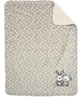 Alvi Microfibre Baby Blanket with UVP 50+ - with Appliqué and particularly fluffy back part 93183-721-9