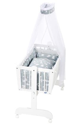 Alvi Cradle Sina Complete Set -  * The classic Alvi cradle stands out as the perfect sleeping place for new-born babies.
