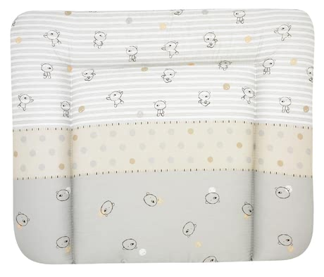 "Alvi Changing Mat ""Molly"" -  * The Alvi changing mat ""Molly"" is particularly soft and cosy and provides the perfect place for your little one to feel comfortable and safe."