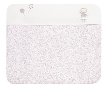 "Alvi Changing Mat with Cover ""Silver Star"" -  * The Alvi changing mat with the cover ""Silver Star"" is particularly soft and cosy and provides the perfect place for your little one to feel comfortable and safe."
