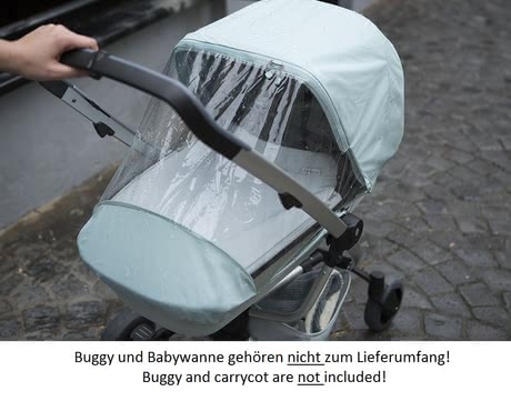 Quinny Zapp Rain Cover -  * Out and about whatever the weather? No problem. With the Quinny Zapp Rain Cover your little one enjoy any ride in his or her buggy.