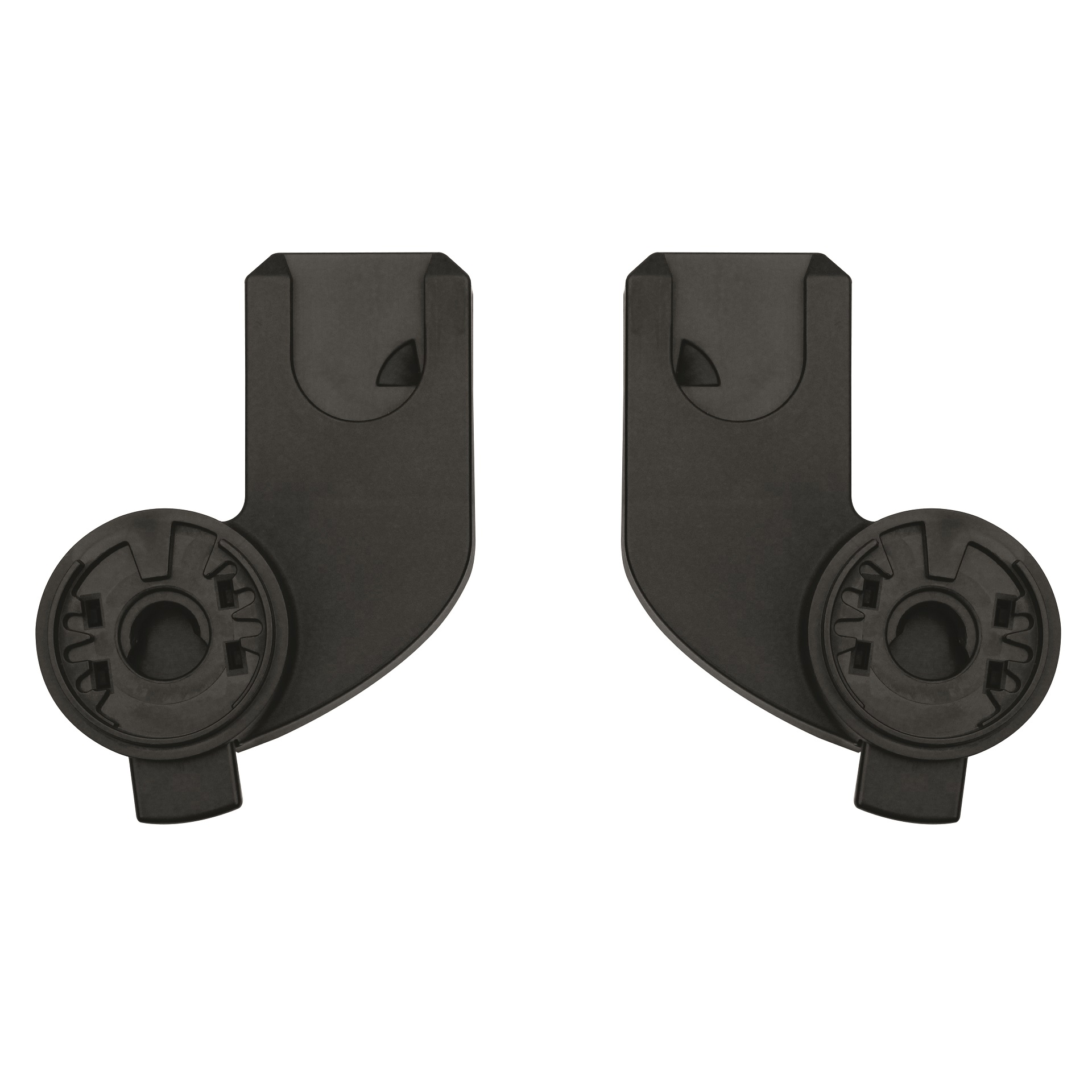 Black Quinny Zapp Xtra Stroller Replacement Car Seat Adapters