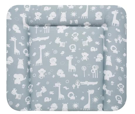 "Alvi CHanging Mat ""Kuschel"" -  * Alvi's changing mat ""Kuschel"" is wonderfully soft and cuddly and thus stands out as the perfect place for changing your baby's nappies on."