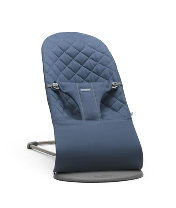 BabyBjörn Baby Bouncer Bliss Cotton - * The baby bouncer Bliss by BabyBjörn is provided with a seat made of cotton and provides three different positions – playing, resting and sleeping.