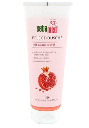 Sebamed Nurturing Shower Gel with Pomegranate -  * Healthy Wellness for your skin! The Sebamed Nurturing Shower Gel cleanses sensitive skin in a mild and particularly gentle way.