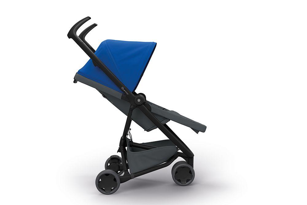 quinny buggy zapp flex 2019 blue on graphite buy at kidsroom strollers. Black Bedroom Furniture Sets. Home Design Ideas