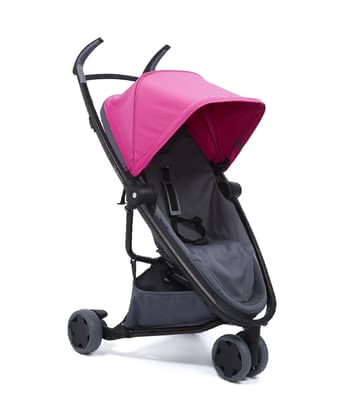 Quinny Buggy Zapp Flex Pink on Graphite 2020 - large image