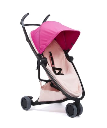 Quinny Buggy Zapp Flex Pink on Blush 2020 - large image